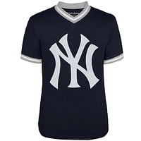 New York Yankees - Logo Eephus V-Neck Jersey T-Shirt