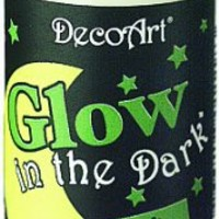 DecoArt DS50-3 Glow-in-the-Dark Paint, 2-Ounce