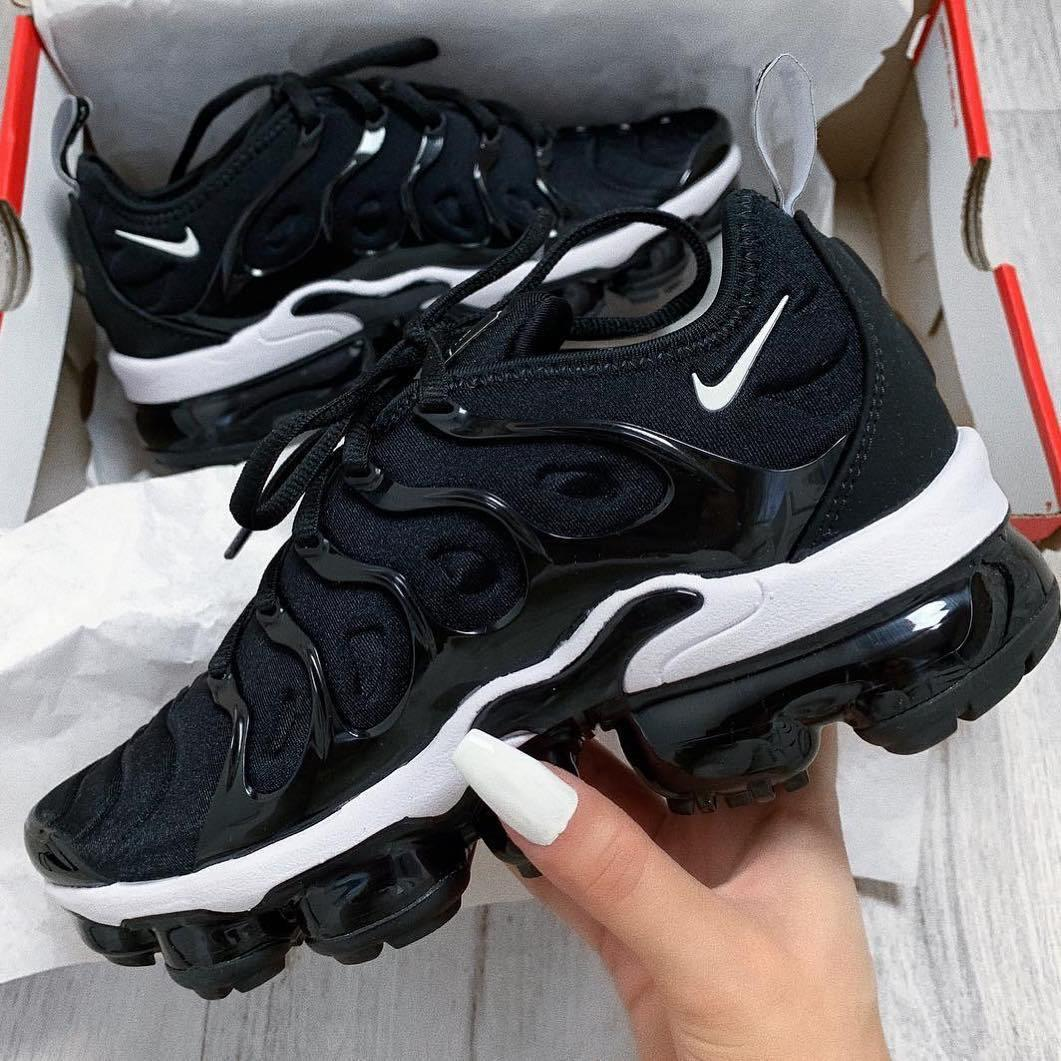 Image of Nike Air Vapormax Plus Triple White Running Sneakers Sport Shoes