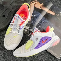Nike Joyride Flyknit CC3 OBJ fashion casual cushioning particle sports running shoes men's and women's shoes
