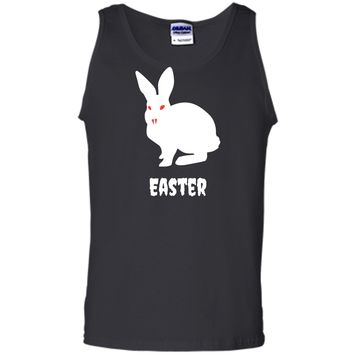 Evil Easter Bunny Rabbit Anti Holiday Pastel Goth Shirt Top Tank Top