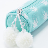 Weed Mini Pencil Case in Mint - Urban Outfitters