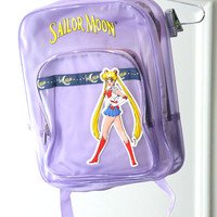 90s Sailor Moon SeeThrough Lavender Jelly by HumanNightmare
