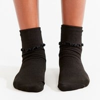 Out From Under Ruffle Crew Sock | Urban Outfitters