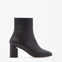 COS   Round heel leather boots