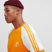 adidas Originals California T-Shirt In Orange DH5809 at asos.com