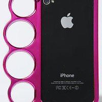 *Accessories Boutique The Brass Knuckle Iphone 4 Case in Pink : Karmaloop.com - Global Concrete Culture