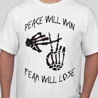 TØP 'peace will win, fear will lose' Shirt