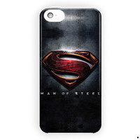 Man Of Steel Superman Logo Movie For iPhone 5 / 5S / 5C Case