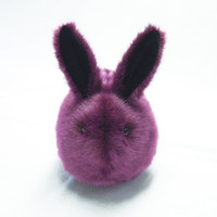 Blackberry the Purple Bunny Stuffed Animal Plush Toy