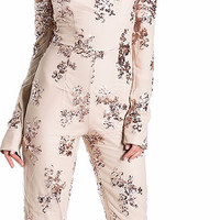 Novelty Knitted Sequined Jumpsuit