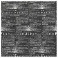 The Tempest Shakespeare Play Fabric