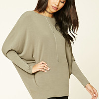 Dolman-Sleeved Top