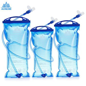 AONIJIE Outdoor Hydration Backpack Tactical Water Bag Bottle Camelback For Hiking Hunting With Detachable Drinking Tube 1.5/2/3L