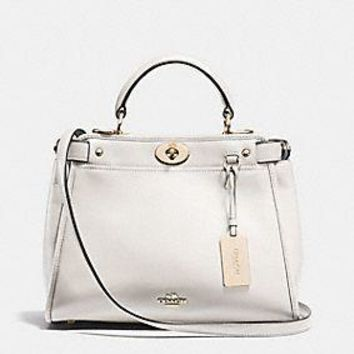 MINI GRAMERCY SATCHEL IN LEATHER