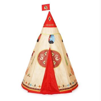 Children Beach Tent Baby Toy Play Game House Kids Princess Prince Castle Indoor Outdoor Toys Tents Christmas Gifts