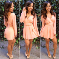 Chic Romper - Blush
