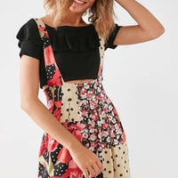 Silence + Noise Kitty Skirtall Overall | Urban Outfitters