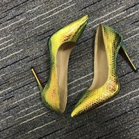Christian Louboutin Cl Pumps High Heels Reference #02bk13 - Best Deal Online
