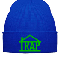 trap house g Bucket Hat - Beanie Cuffed Knit Cap