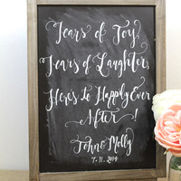 Huge Collection of Wedding Chalkboards found at The Paper Walrus - Rustic Weddings