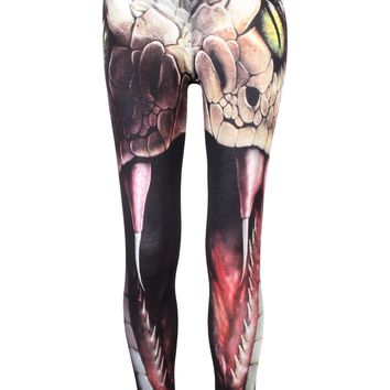 Spiral Snake Eyes Leggings