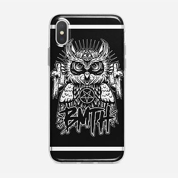 Bring Me The Horizon Owl Logo iPhone XS Max Case