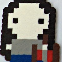 Marceline with Axe Guitar Perler (Adventure Time) from Little House of Crafting