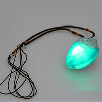 Vaiana Moana princess necklace Music and led lightKey Ring Pendant Movie Figures Action Piece toys toothless dragon toys gift