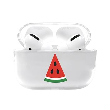 Watermelon Slice Airpods Pro Case