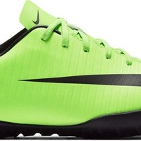 Nike JR MERCURIALX VAPOR XI TF boys soccer-shoes 831949 2.5 Little Kids M '