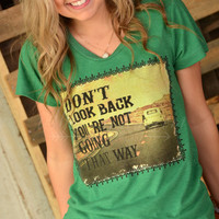 Natural Life Don't Look Back Tee