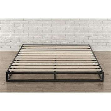 Full Size 6-inch Low Profile Metal Platform Bed Frame