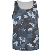 Urban Camo All Over Adult Tank Top