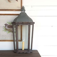 French-Style Mantel Lantern Lamp