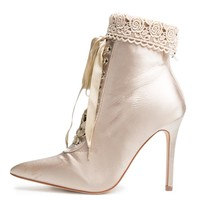 Cape Robbin Mini-3 Nude Women's  Bootie