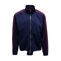 THE ESCOBAR TRACK TOP - NAVY