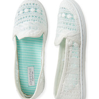 Crochet Slip-On Shoe