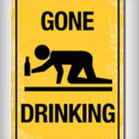 'Gone Drinking' Poster