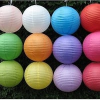 Great Chinese Paper Lantern Wedding Colorful Venue Decor Festival Bargain Price = 1932611460