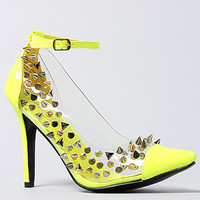 *Sole Boutique The Beverly Shoe in Neon Yellow