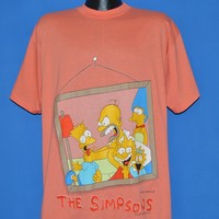90s Simpsons Family Portrait t-shirt Extra Large