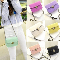 Handbag Womens Long Chain Candy Color Messenger Shoulder Bag Tote Crossbody = 1958746500