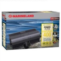 "Marinelane PF0400B  Emperor 400 Pro Series Bio-wheel Power Filter - Up to 80 gallon, Rite Size ""E"","