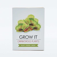 Gift Republic Grow Your Own Carnivorous Plant - Urban Outfitters