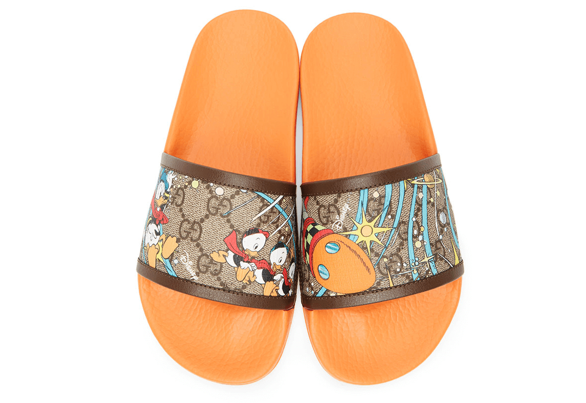 Image of GUCCI  GG  Donald Duck Sandals