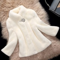 genuine natural imported whole mink fur coat stand collar short jacket coats 2017 winter fashion new outerwear mink coat