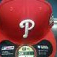 NEW ERA PHILADELPHIA  PHILLIES MLB WORLD SERIES 2009 PATCH FITTED HAT SHIP