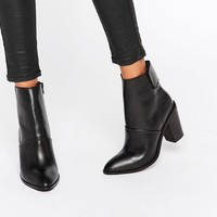 ASOS | ASOS EFFIE Leather Ankle Boots at ASOS