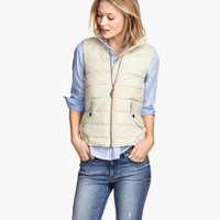 Padded Vest - from H&M